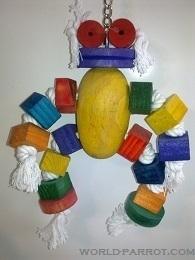 اسباب بازی عروسک طوطی