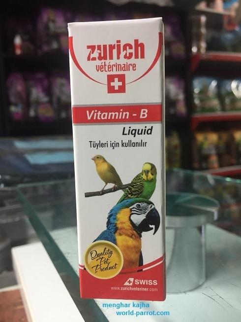ویتامین بی کمپلکس پرندگان زینتی B Complex