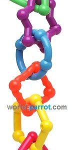 اسباب بازی پلاستیکی طوطی آمازون