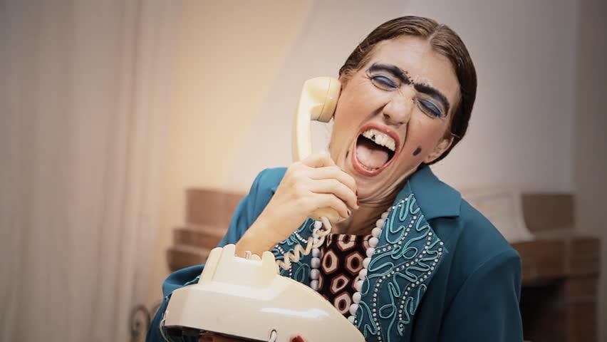 مزاحم تلفنی طوطی