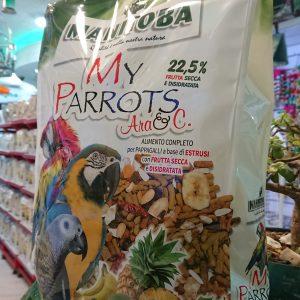 Manitoba Ara Macaw Cockatoo Parakeets 26068 Birdfood Parrot