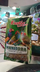 Manitoba Exotic Finch 6140 Birdfood Parrot