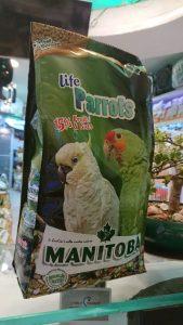 Manitoba Life Parrots Parakeets 26065 Birdfood Parrot