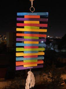 اسباب بازی چوبی طوطیسانان رنگین کمانی